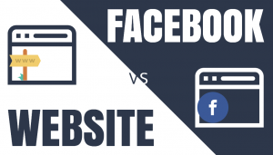Your Own Website or a Facebook Page?