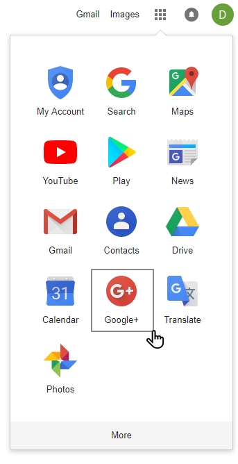 google application google+