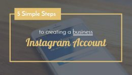 5 simple steps creating business instagram account