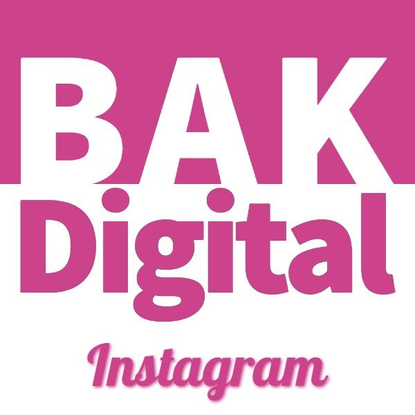 BAK Digital Instagram course icon